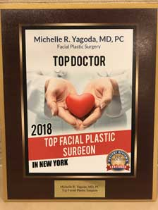 Top Doctor - NYC Facial Plastic Surgeons 2018